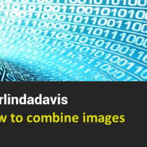 GIMP how to combine images
